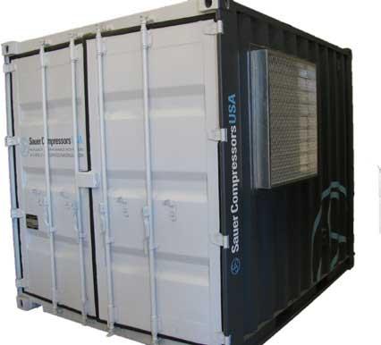 sauer rentals container